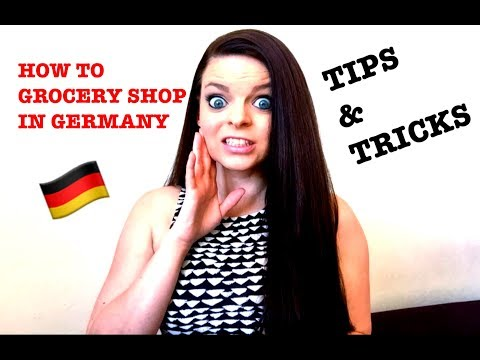 HOW TO GROCERY SHOP IN GERMANY | TIPS & TRICKS