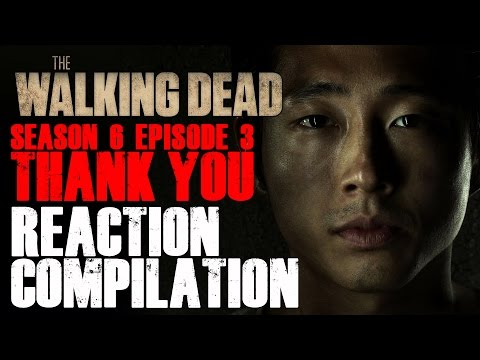 The Walking Dead | Glenn's False Death Reactions Compilation