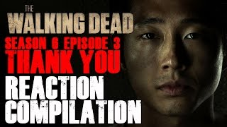 The Walking Dead | Glenn's False Death Reactions Compilation