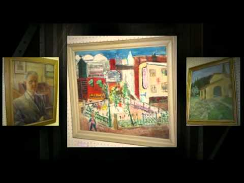 Some Available Art Works at Antique Galleries of St. Petersburg