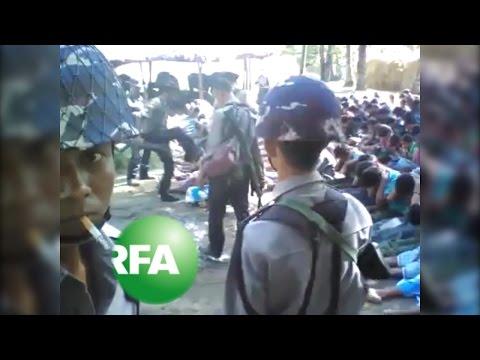 Myanmar Detains Four Police over Rohingya Beating Video | Radio Free Asia (RFA)
