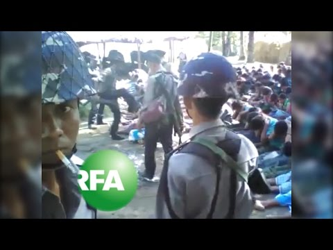 Myanmar Detains Four Police over Rohingya Beating Video | Radio Free Asia (RFA)