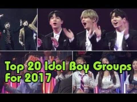 News Kpop - Netizens Create A Map Of Varying Country Sizes To Show Boy Group Popularity In 2017