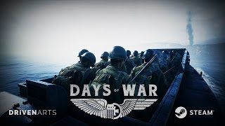 Days of War Early Access Release Trailer: Omaha Beach