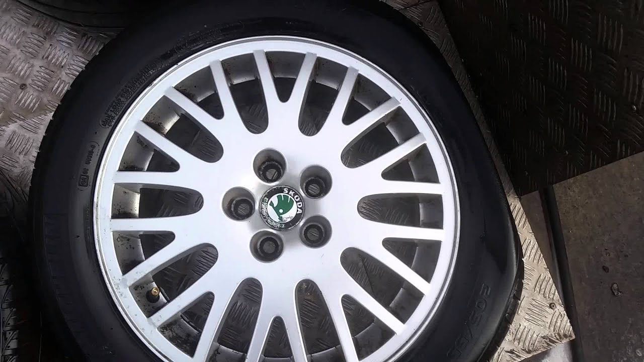 Skoda octavo 16 inch alloy wheels
