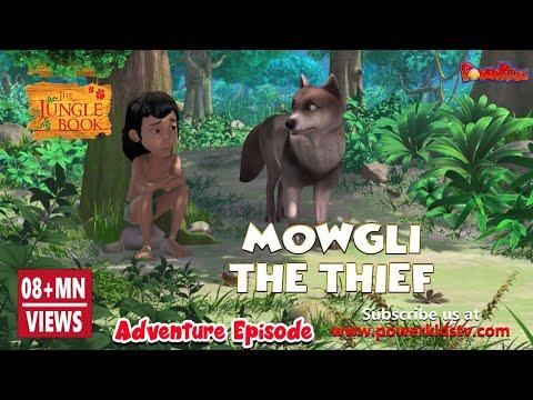 Jungle Book Hindi Cartoon for kids | Junglebeats| Mogli Cartoon Hindi | Mowgli The Thief