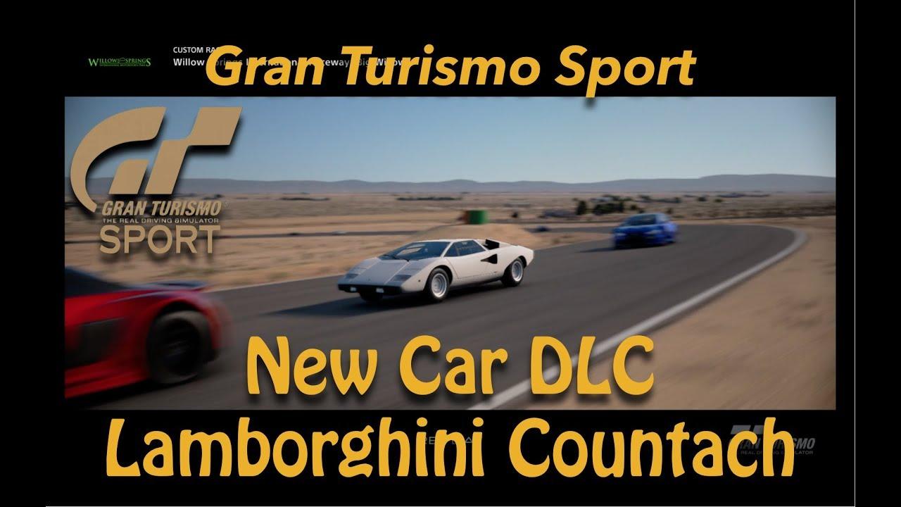 Dlc Gran Turismo Sport : gran turismo sport new dlc car 1974 lamborghini countach lp400 youtube ~ Medecine-chirurgie-esthetiques.com Avis de Voitures