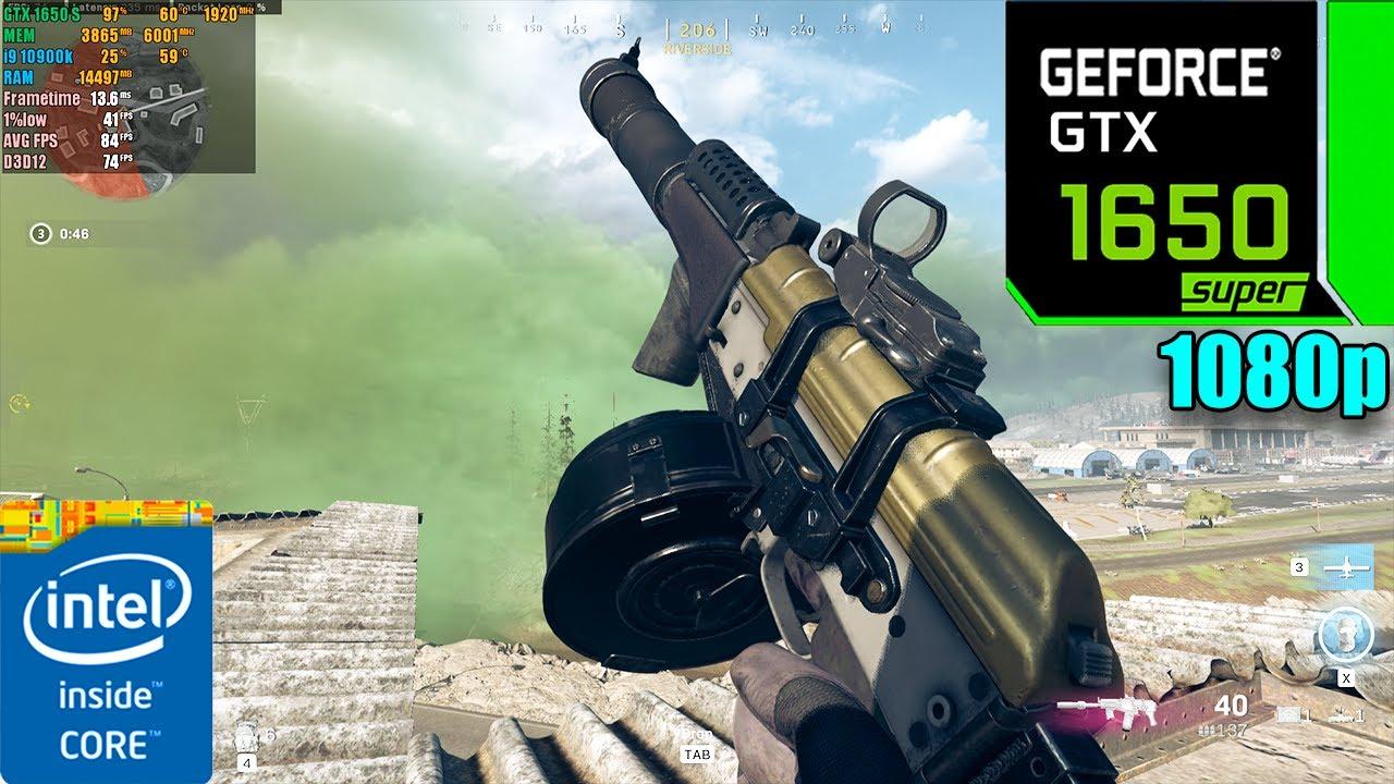 Call of Duty : Warzone Battle Royale | GTX 1650 Super 4GB