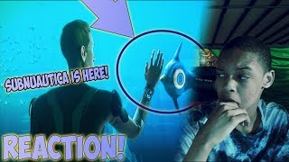 SUBNAUTICA CINEMATIC TRAILER REACTION   SHOULD I PLAY THIS?