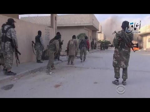 ISIS continues takeover of Syrian border town