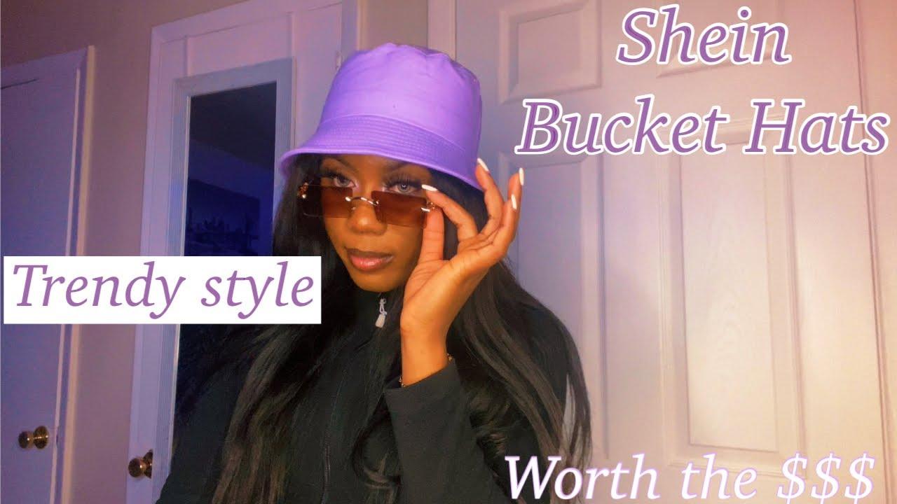 SHEIN Bucket hats| Try-on haul