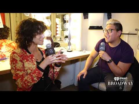 iHeartradio Broadway Interviews - The Lightning Thief's Jorrel Javier Has Been A Life-Long Fan Of The Series
