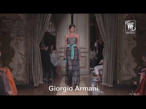 Giorgio Armani Prive Haute Couture Fall/Winter 18-19
