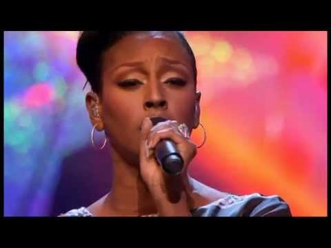 Alexandra Burke, On Songs Of Praise, Cant Give Up Now