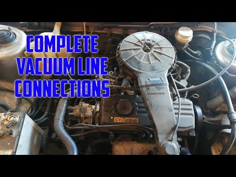 Mitsubishi Lancer 4g1 Engine Vacuum Line Connections