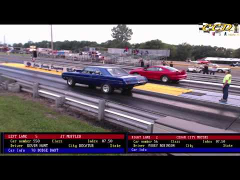 Coles County Dragway USA Index Racing July 6, 2013