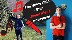 "Flirt mit Lena, Weg in die Show, Drehtag - The Voice Kids"" - Star JASON KLEES im Interview -Teil 1"