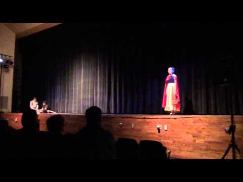 Grace Rusnica in Stage Rights Snow White, duet with Anthony Marino,