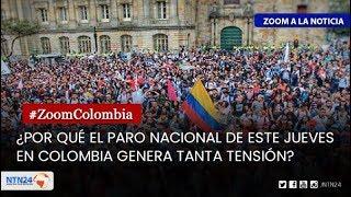 ¿Por qué el paro nacional en Colombia genera tensión?Escribe un mensaje