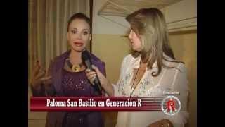 Entrevista  a Paloma San Basilio - su despedida en Cali Colombia