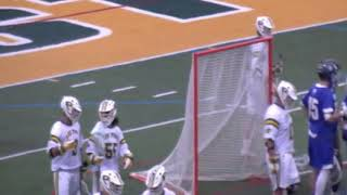 LIU Post Men's Lacrosse vs. NYIT Highlights (ECC Championship 2019)