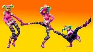 Fortnite Zoey Performs All Dances Season 1-4