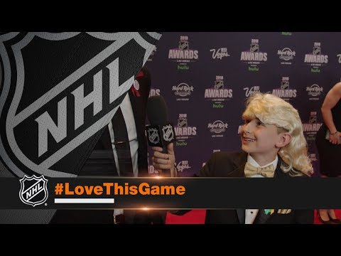 Kid Correspondent Matt G hits NHL Awards red carpet