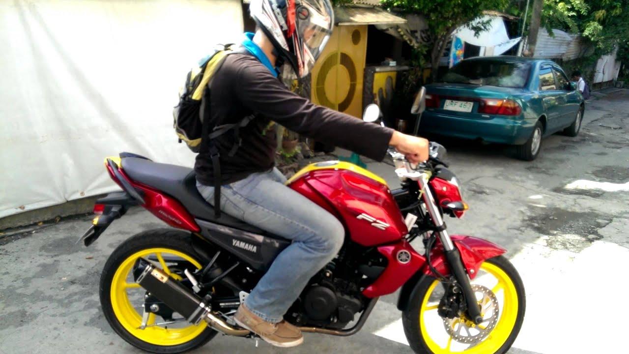 Yamaha fz 16 modified