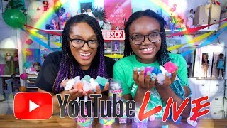 YouTube LIVE with The Froggy's   Q&A   JigglyDoos   Fan Mail & more