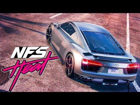 AUDI R8 ПОЛНЫЙ ФАРШ РАКЕТЫ - NEED FOR SPEED HEAT