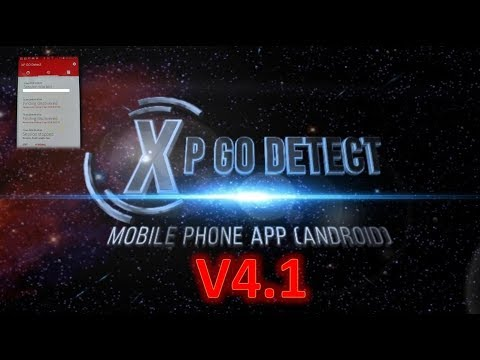 XP V4.1 Go Detect Mobile Phone app By GODETECTECH