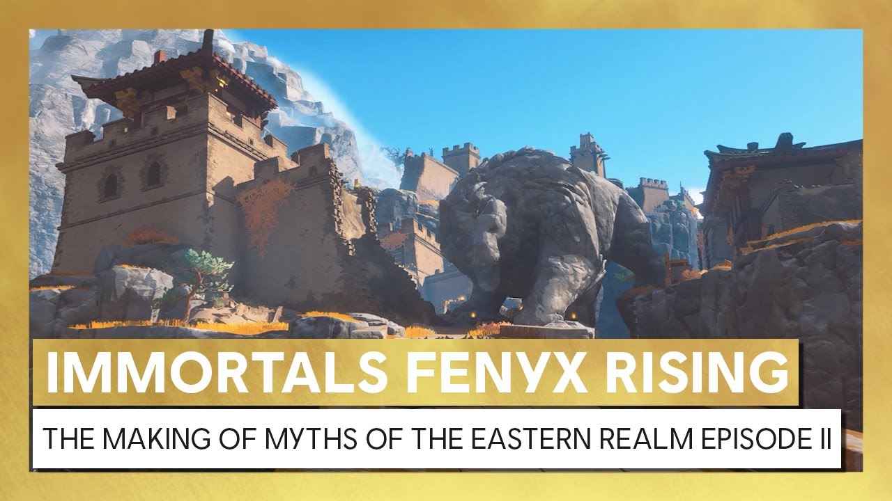 Immortals Fenyx Rising: Myths of the Eastern Realm - Behind the Scenes Video Episode 2