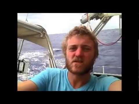 Atlantic crossing West to East alone in a small boat 2014
