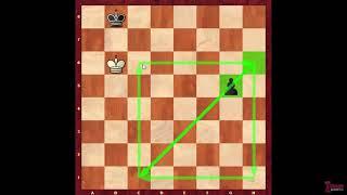 Пешечный эндшпиль. Урок 1. Правило квадрата