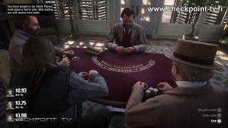 Red Dead Redemption 2 #76 Playing Blackjack Gameplay