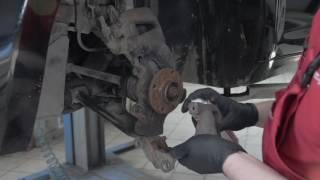 видео Обслуживание тормозной системы