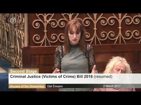 Criminal Justice  Victims of Crime Bill 2016