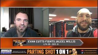 LFA 28's Evan Cutts talks Jaleel Willis matchup **interview prior to Cutts injury*
