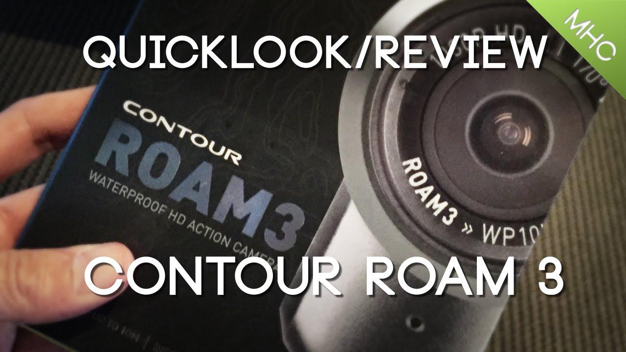 quicklook and review contour roam 3 hd youtube rh youtube com contour hd camera manual pdf Contour Cam Accessories