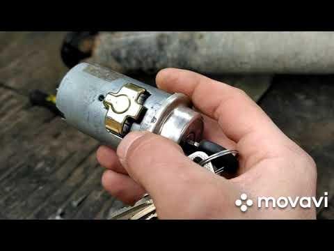 Замена замка зажигания ВАЗ 2101-07