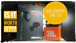 Boat Nirvanaa Uno.. the best budget headphones in 2018 .. unboxing.. is it worth it??