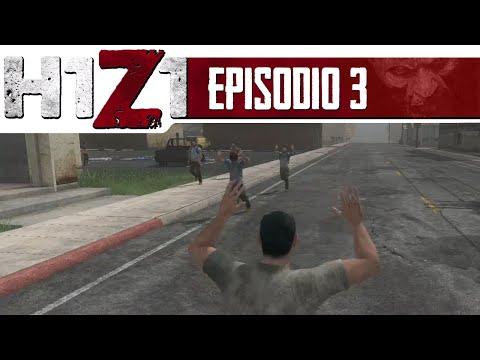 H1Z1 #3 - Explorando Cranberry // Put your hands up! // Perseguição!!