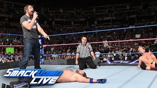 James Ellsworth vs. AJ Styles – WWE World Championtitel Match: SmackDown LIVE, 18. Oktober 2016