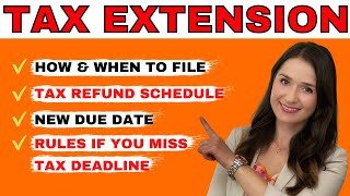 2021 IRS Tax Exteฑsion Filing IRS Form 4868 Explained
