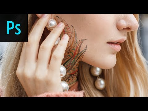 How To Add Realistic Tattoos In Photoshop