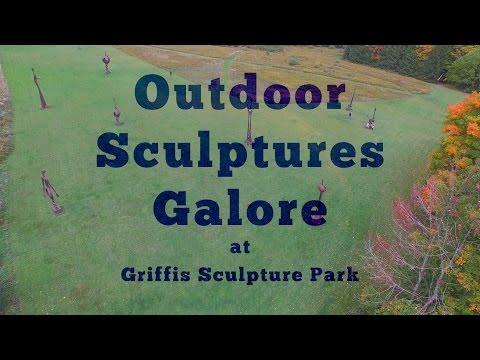 Outdoor Sculptures Galore at Griffis Sculpture Park