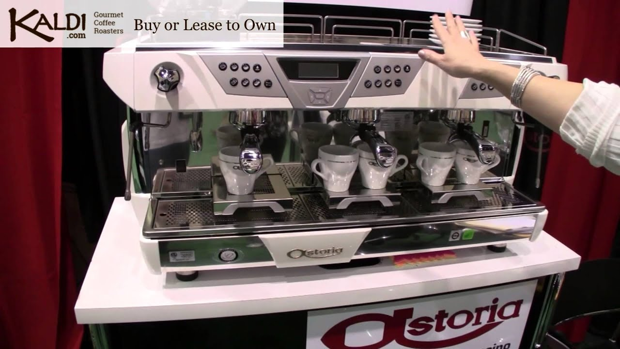 astoria plus 4 you commercial espresso machine youtube. Black Bedroom Furniture Sets. Home Design Ideas