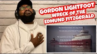 Gordon Lightfoot - The Wreck Of The Edmund Fitzgerald | REACTION