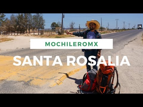 MOCHILEANDO | Camino a Santa Rosalia, Baja california sur.