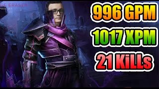 Miracle- Dota 2 - 996 GPM 1017 XPM - 21 KILLS - Miracle FORM